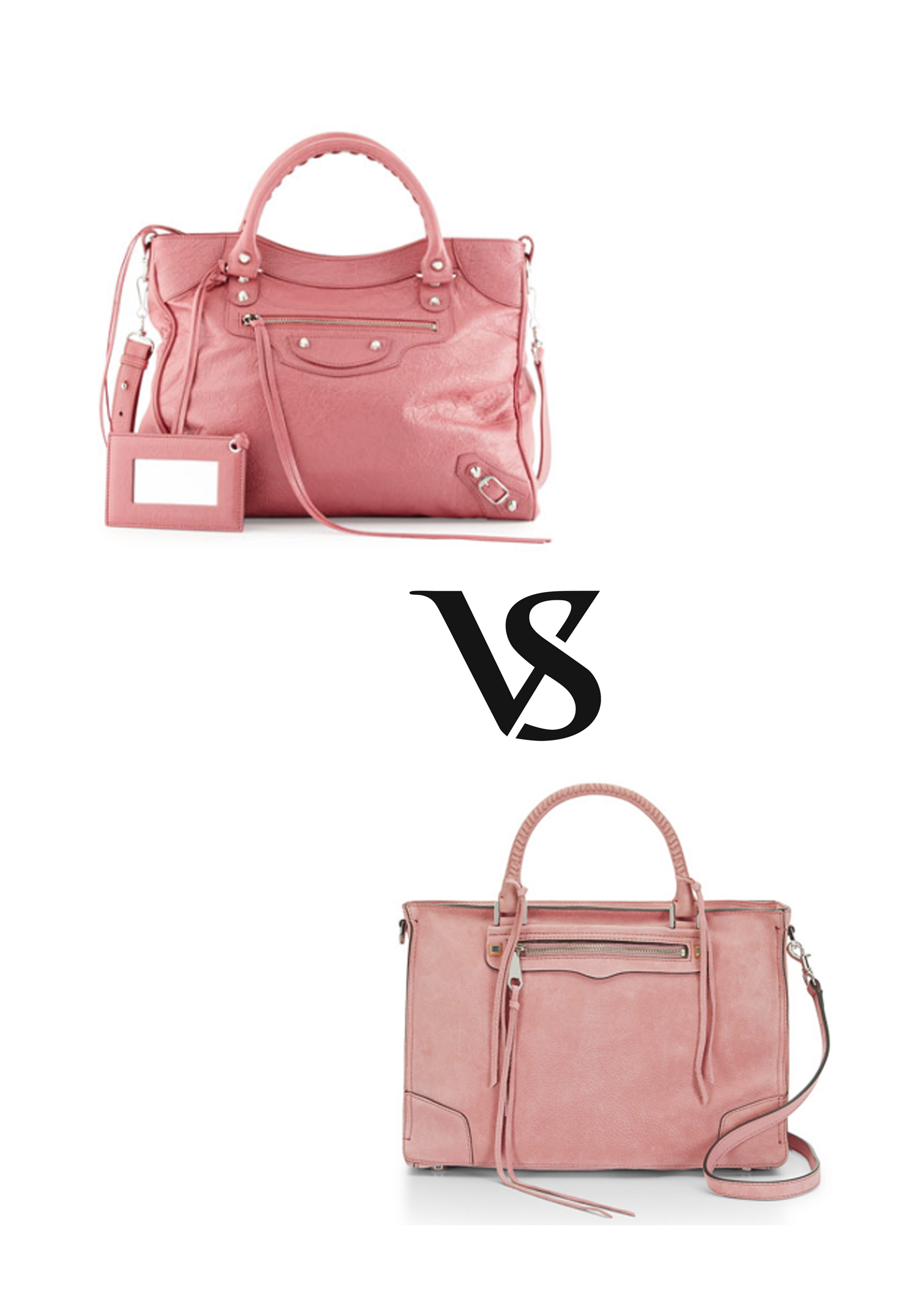 The Battle Of The Bags Balenciaga Vs Rebecca Minkoff
