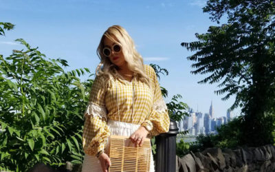 Keep Cool And Stylish In Gingham Style